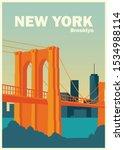 Brooklyn New York Bridge...