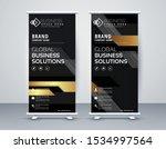 business roll up. standee... | Shutterstock .eps vector #1534997564