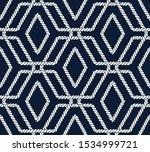 seamless nautical rope pattern. ...   Shutterstock .eps vector #1534999721