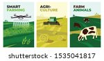 set of vectors with agriculture ... | Shutterstock .eps vector #1535041817