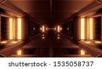 Clean Futuristic Scifi Tunnel...