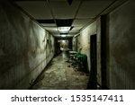 Set Up View Of Dark Room...