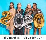 Beautiful Women Celebrating Ne...