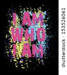 slogan in splash background | Shutterstock . vector #153526061