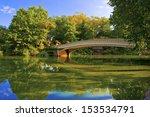Bow Bridge In Central Park  Ne...
