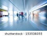 interior of airport | Shutterstock . vector #153538355