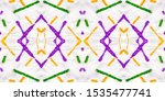 endless geometric pattern.... | Shutterstock . vector #1535477741