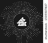 white cinema ticket icon... | Shutterstock .eps vector #1535507837