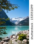 Lake Louise And Mount Victoria...