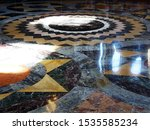 Fragment Of A Marble Floor In...