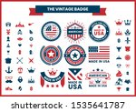 vintage retro vector for banner ... | Shutterstock .eps vector #1535641787