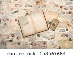 nostalgic vintage background... | Shutterstock . vector #153569684