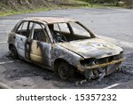 Burnt Out Car Dumped By The...