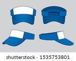 sun visor cap design vector ... | Shutterstock .eps vector #1535753801