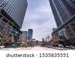tokyo station in tokyo  japan.... | Shutterstock . vector #1535835551