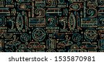 Surfing Seamless Pattern....