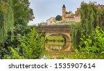 summer city landscape   view of ... | Shutterstock . vector #1535907614