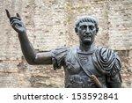 Bronze Statue Of The Roman...