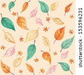 watercolor seamless pattern... | Shutterstock . vector #153596231
