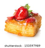 Cake Of Puff Pastry With...