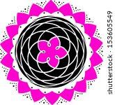 venus earth tango around the...   Shutterstock .eps vector #153605549