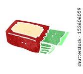retro cartoon chewing gum   Shutterstock .eps vector #153606059