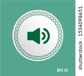 speaker sound vector icon ...