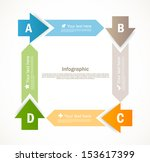 infographic design | Shutterstock .eps vector #153617399