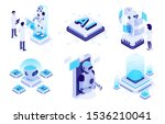 isometric artificial... | Shutterstock .eps vector #1536210041