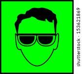 sign of eye protection | Shutterstock .eps vector #153621869