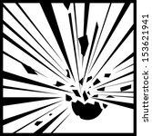 sign explosion | Shutterstock .eps vector #153621941