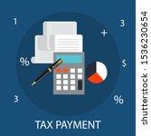 vector illustration of finance  ... | Shutterstock .eps vector #1536230654