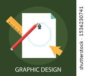 vector illustration of graphic... | Shutterstock .eps vector #1536230741