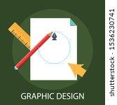 vector illustration of graphic...   Shutterstock .eps vector #1536230741