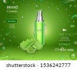 aloe vera extract  gel  body...   Shutterstock .eps vector #1536242777