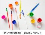 kids creativity. colorful... | Shutterstock . vector #1536275474