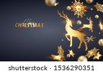 abstract dark modern christmas... | Shutterstock . vector #1536290351