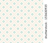 vector seamless retro pattern ... | Shutterstock .eps vector #153630935