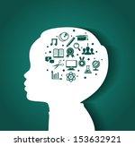 vector illustration of child... | Shutterstock .eps vector #153632921