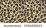 leopard classic seamless... | Shutterstock .eps vector #1536430631