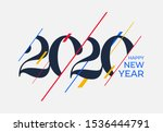 2020 Happy New Year Design...
