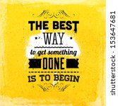 quote typographical background  ... | Shutterstock .eps vector #153647681