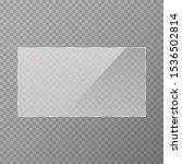 reflective glass banner....   Shutterstock .eps vector #1536502814