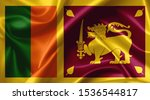 Sri Lanka Flag Country Symbol...