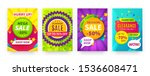 sale banners. special offer and ... | Shutterstock .eps vector #1536608471