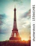 eiffel tower | Shutterstock . vector #153661481