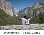 classic tunnel view of scenic... | Shutterstock . vector #1536722861