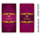 elegant template luxury... | Shutterstock .eps vector #153673337