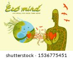 live green  love green  think... | Shutterstock .eps vector #1536775451