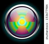 icon radiation | Shutterstock .eps vector #153677984